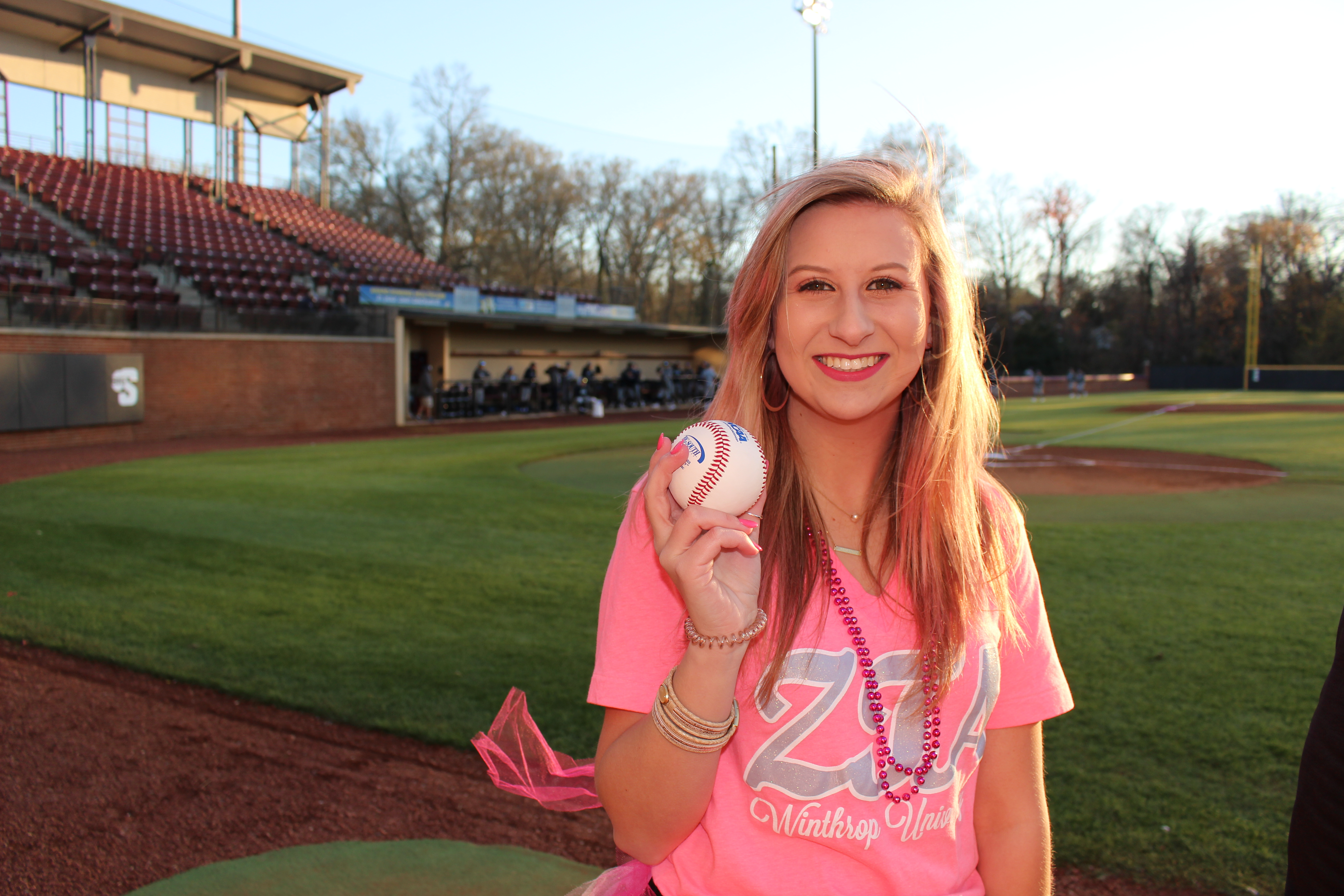 Pink Out Baseball Game