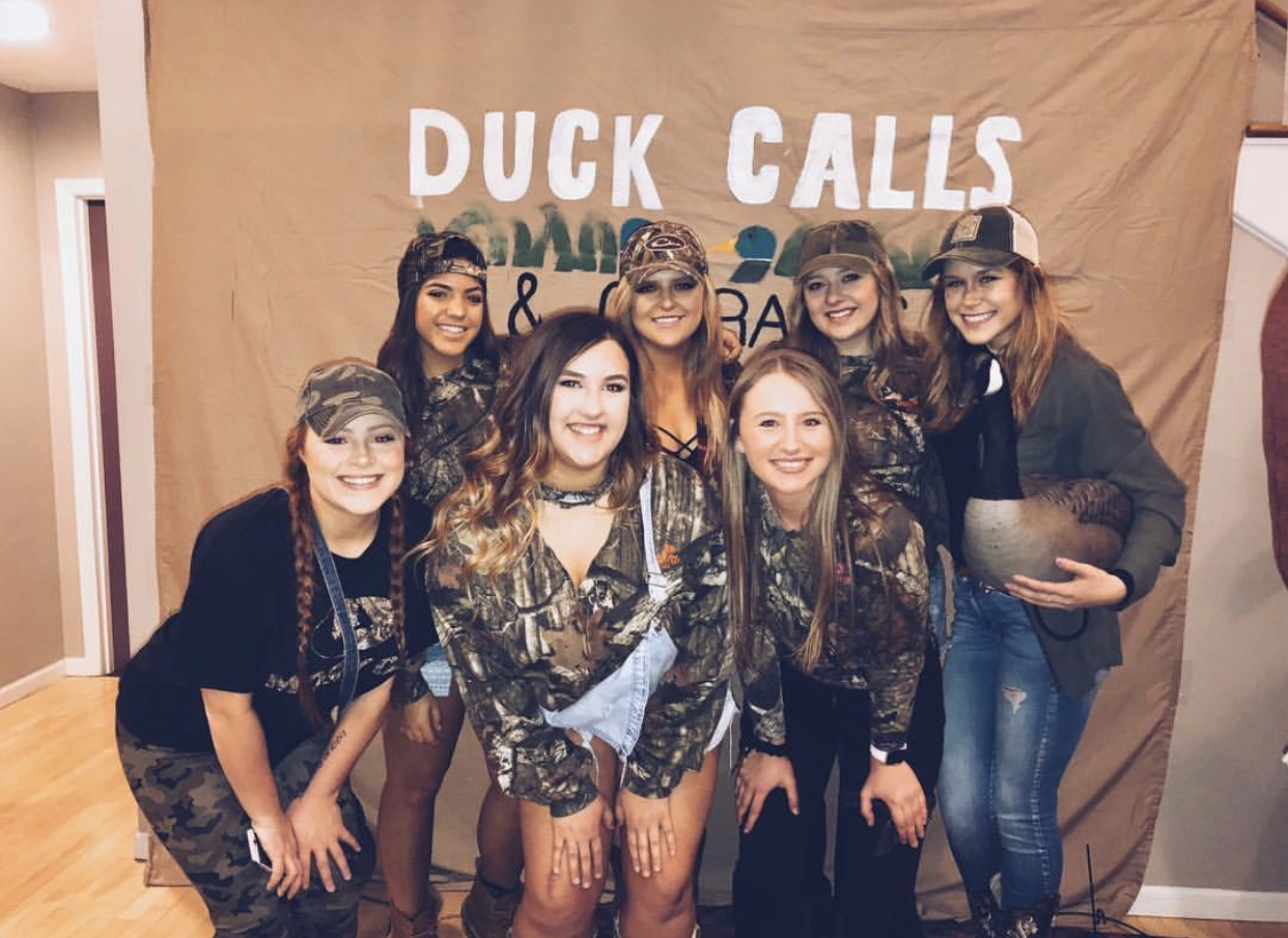 Duck Calls and Overalls Date Party