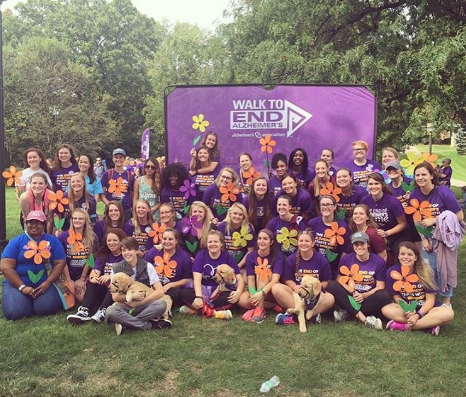 Walk to End Alzheimers 2016