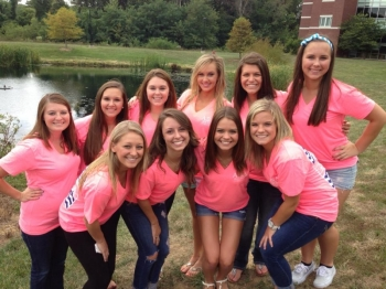 Bid Day Fall 2013