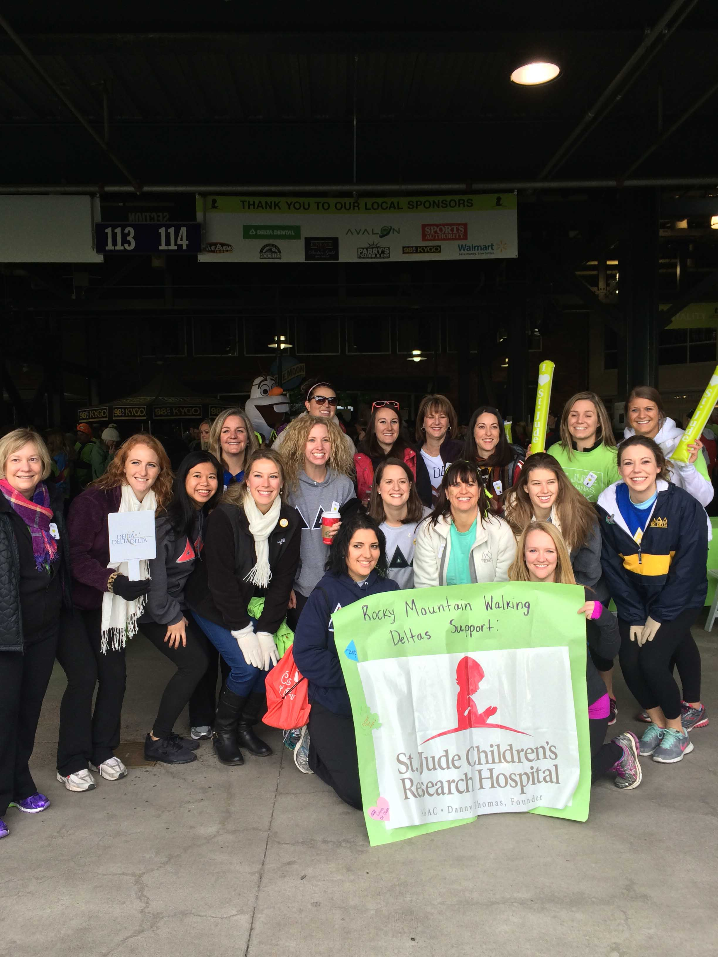2014 St. Jude's Walk/Run to End Childhood Cancer