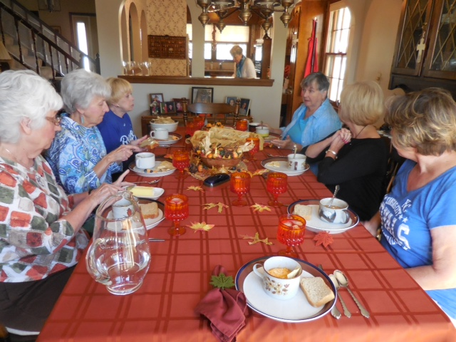 2015 Daytime Group Soup Lunch