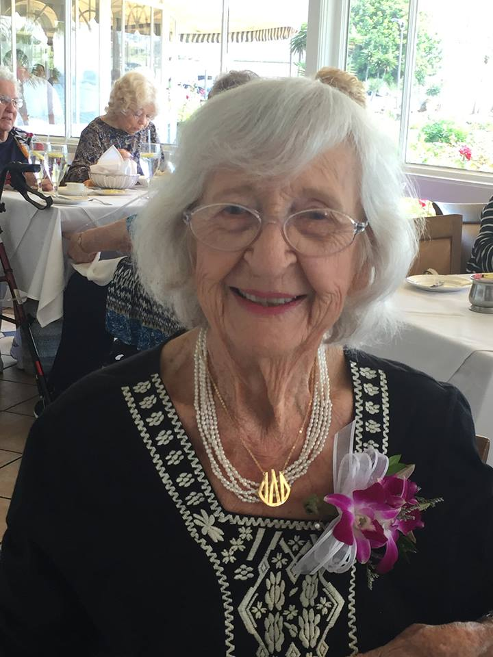 2015 - Margaret Hicks - 100 Years Young!