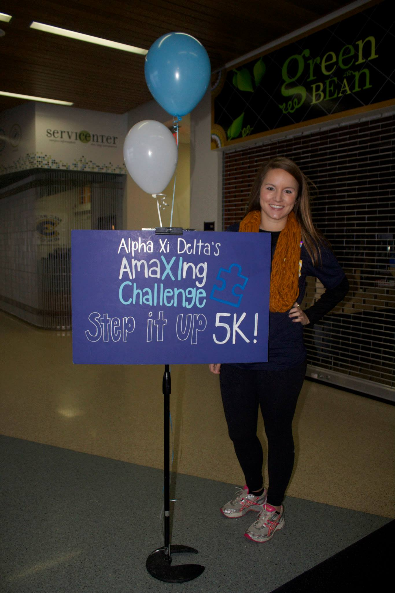 2nd Annual AmaXIng Challenge: Step It Up