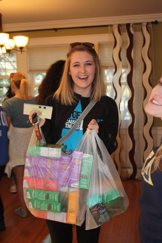 Girl Scout Cookie Sales 2016