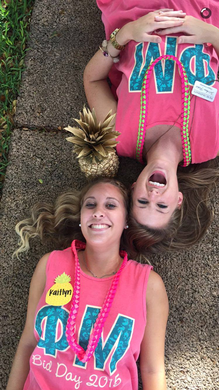 Bid Day - Fall 2015