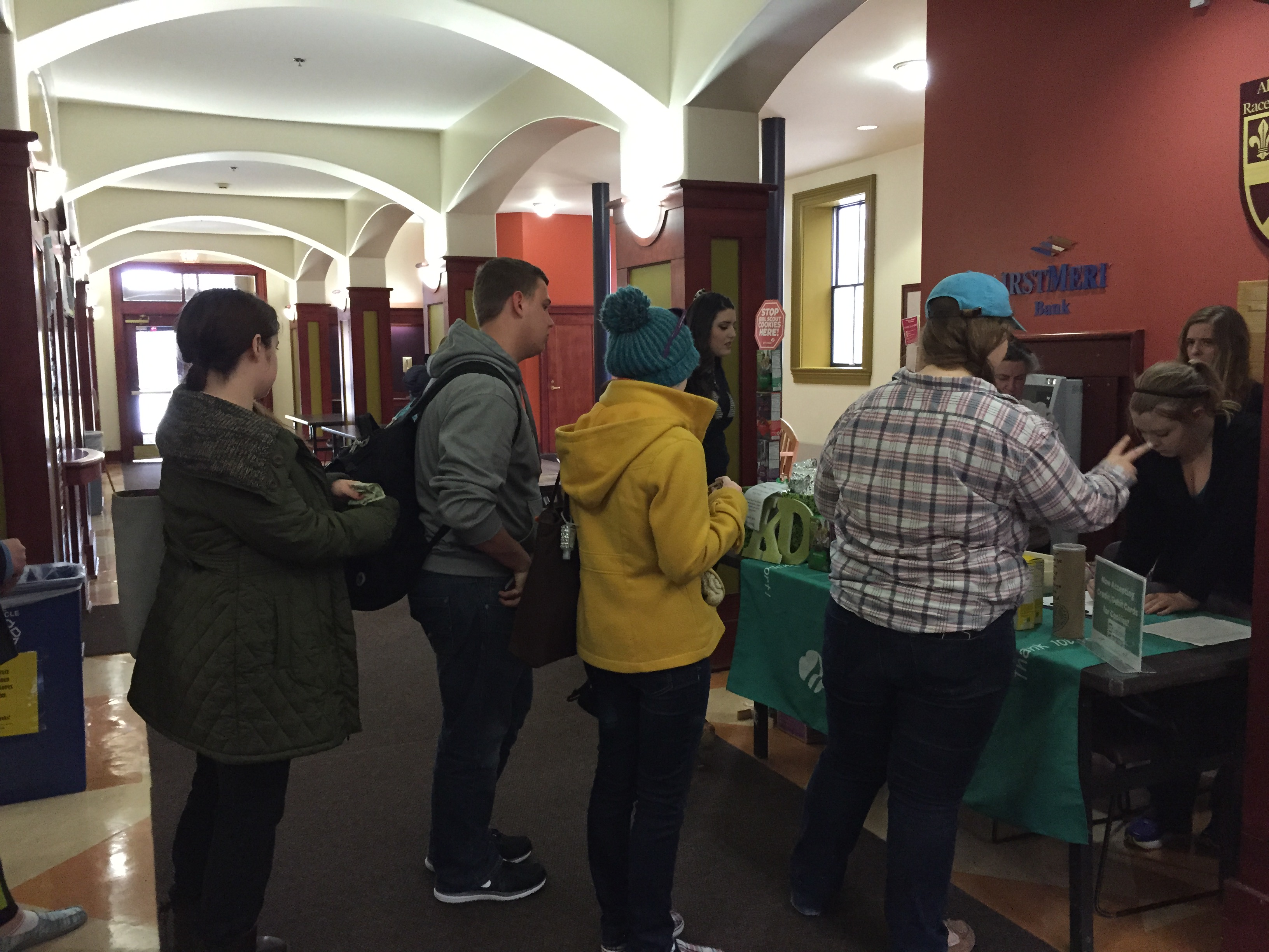 Founder's Day/Girl Scout Cookie Sales