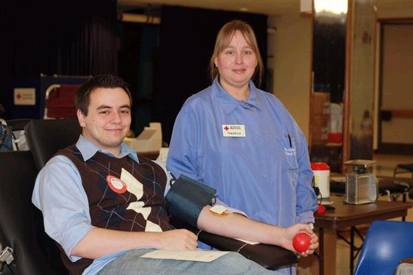 Red Cross Blood Drive 2011