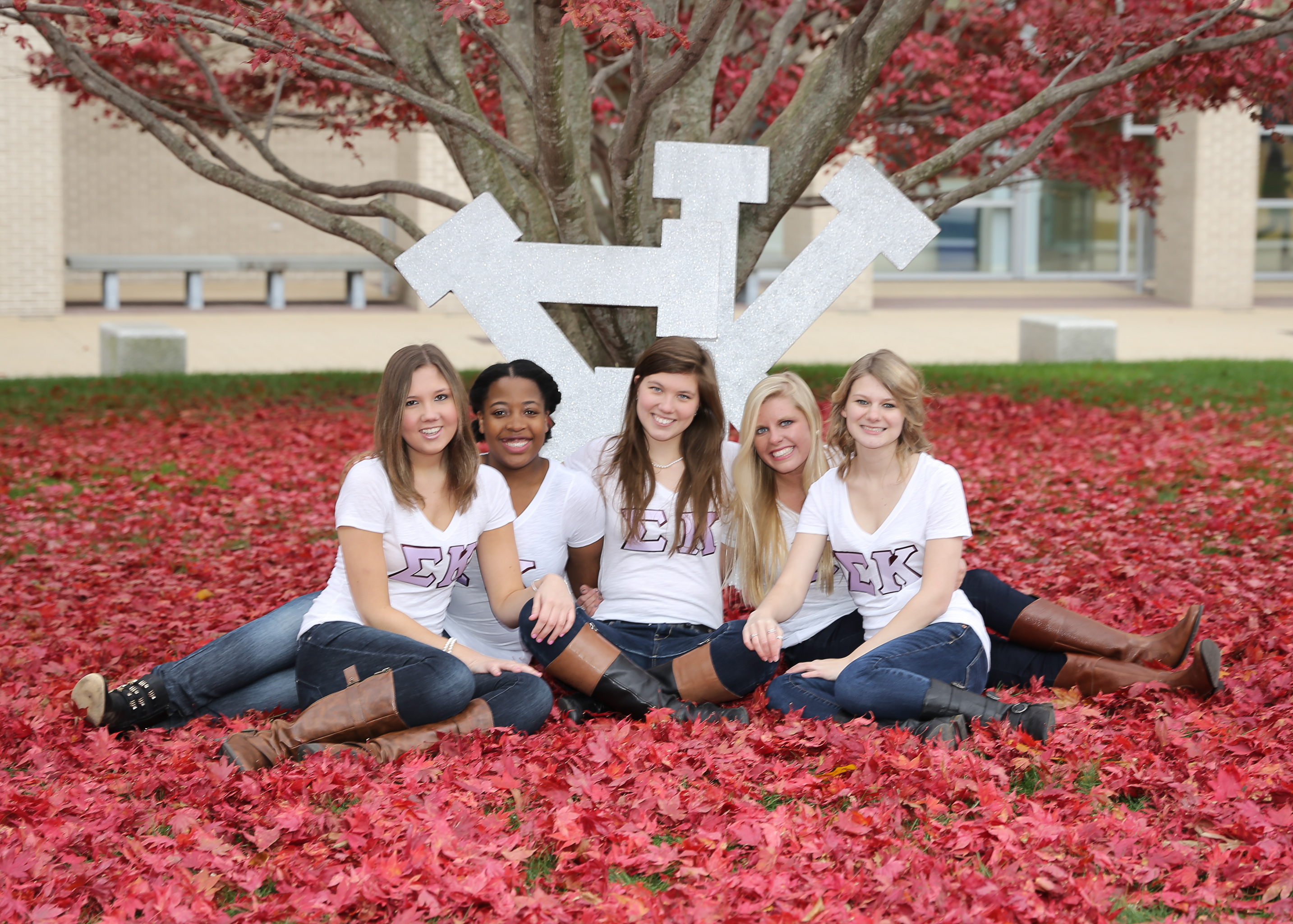 Sigma Kappa Fall 2014 Photo Shoot