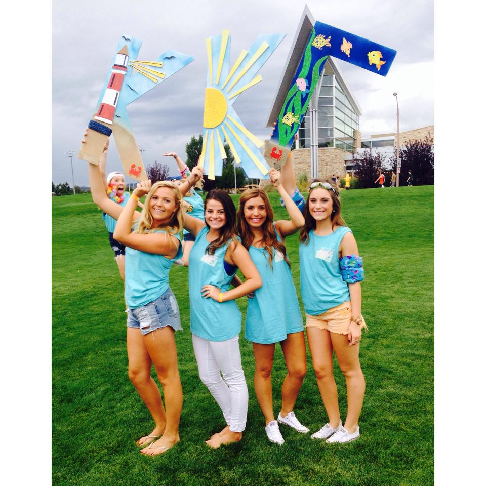 Bid Day Fall 2014 - Under the Sea With KKG