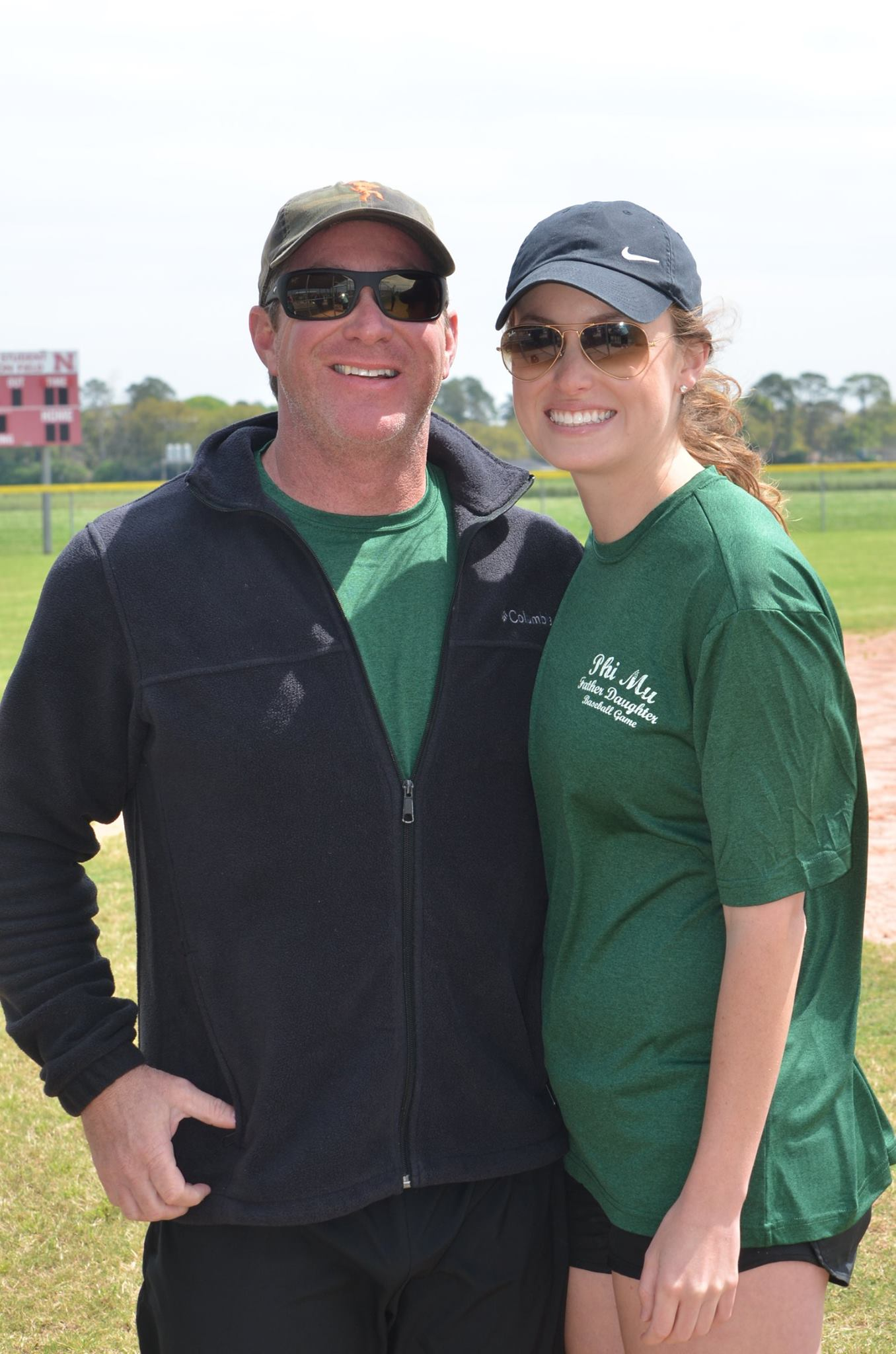 Father Daughter Baseball Game 2016