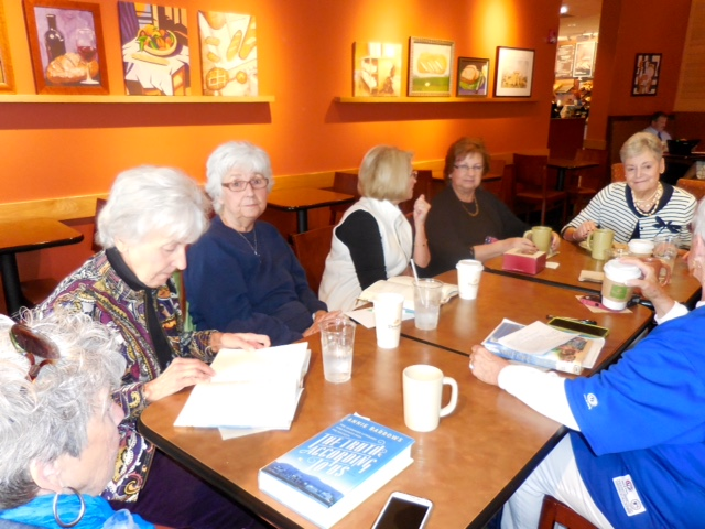 October 2015 - Daytime Book Club