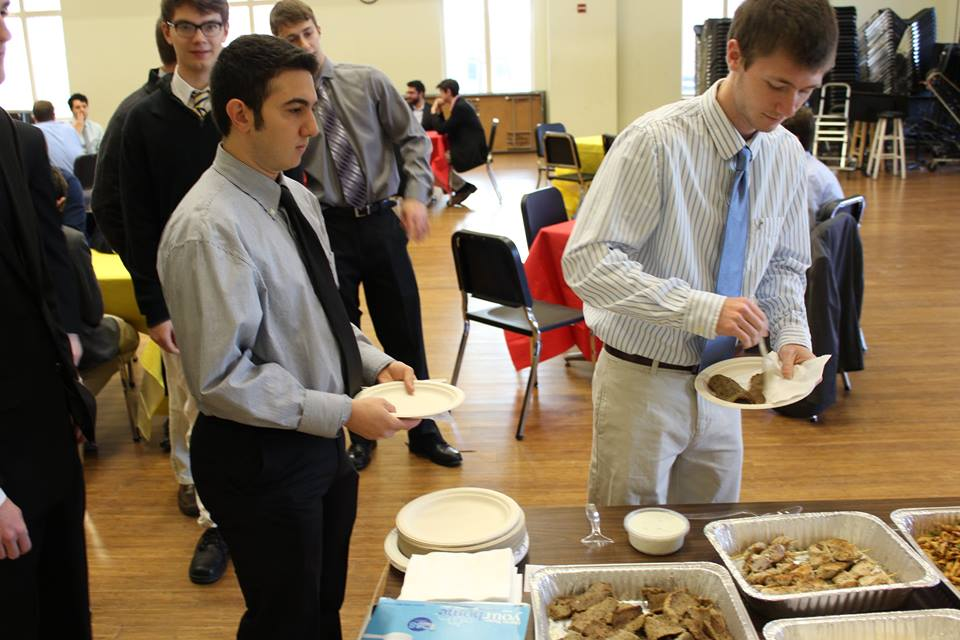 Formal Rush Lunch Spring 2016