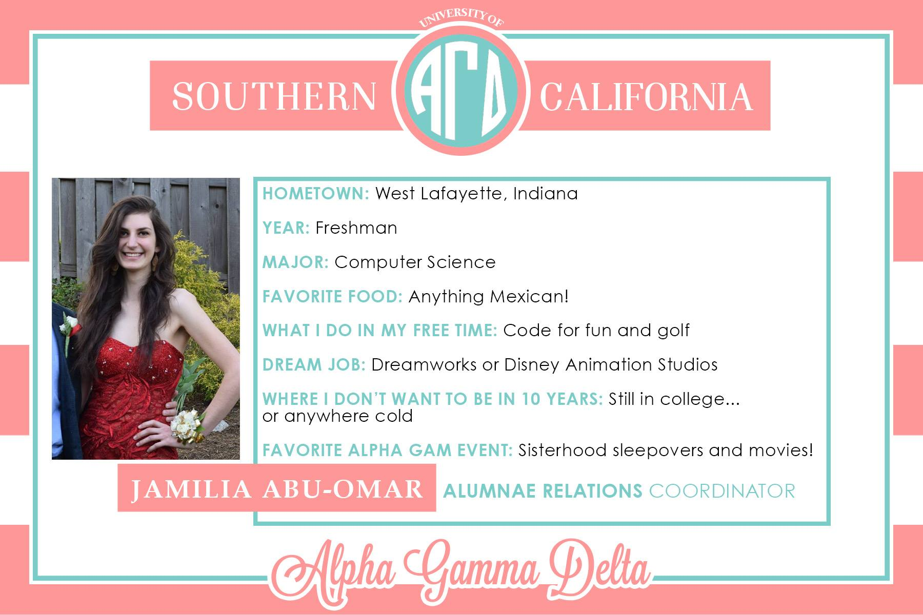 Getting to Know Alpha Gam