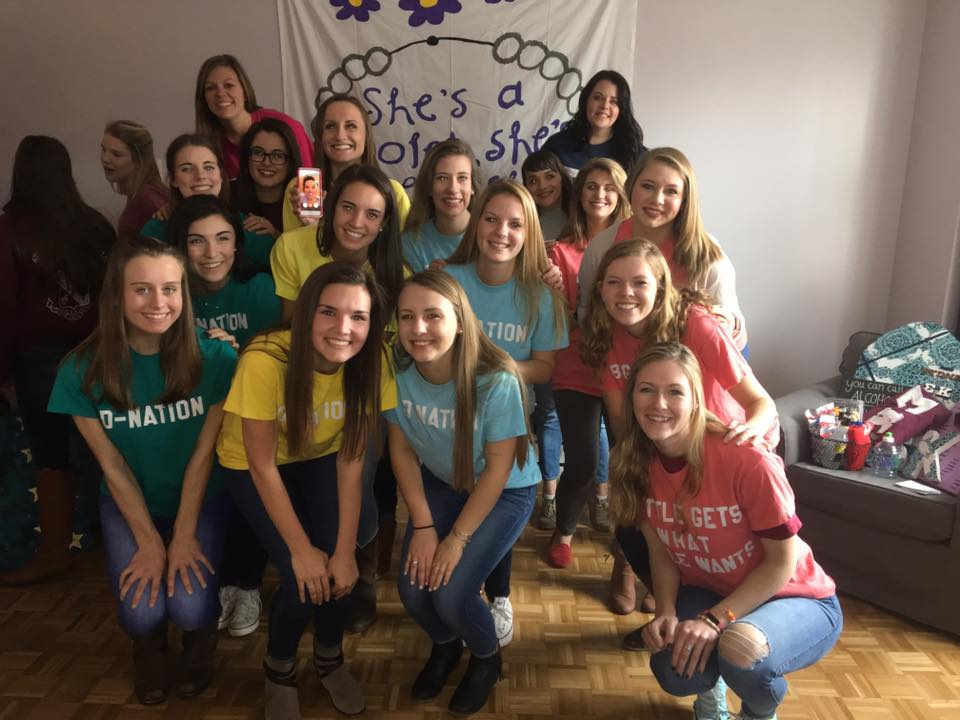 Big/Little Reveal 2017