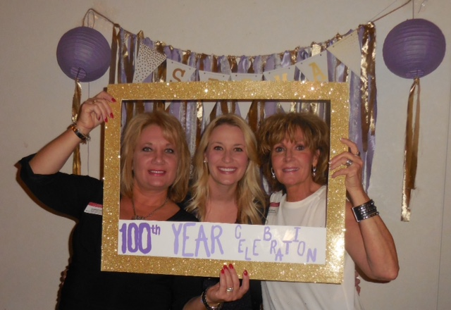 KCAC Members at Nu Chapter's 100 Year Anniversary Celebration