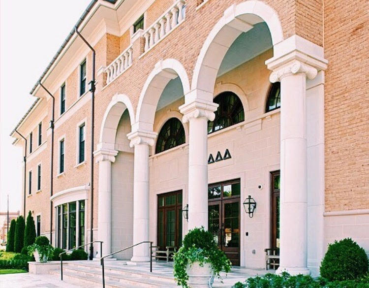 Our House Delta Delta Delta At The University Of Alabama