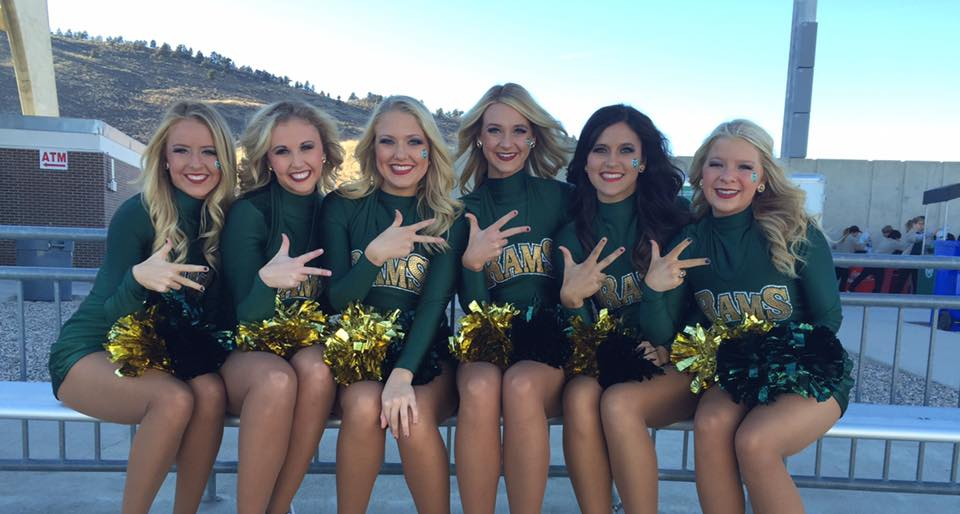 Kappa Loves the CSU Rams