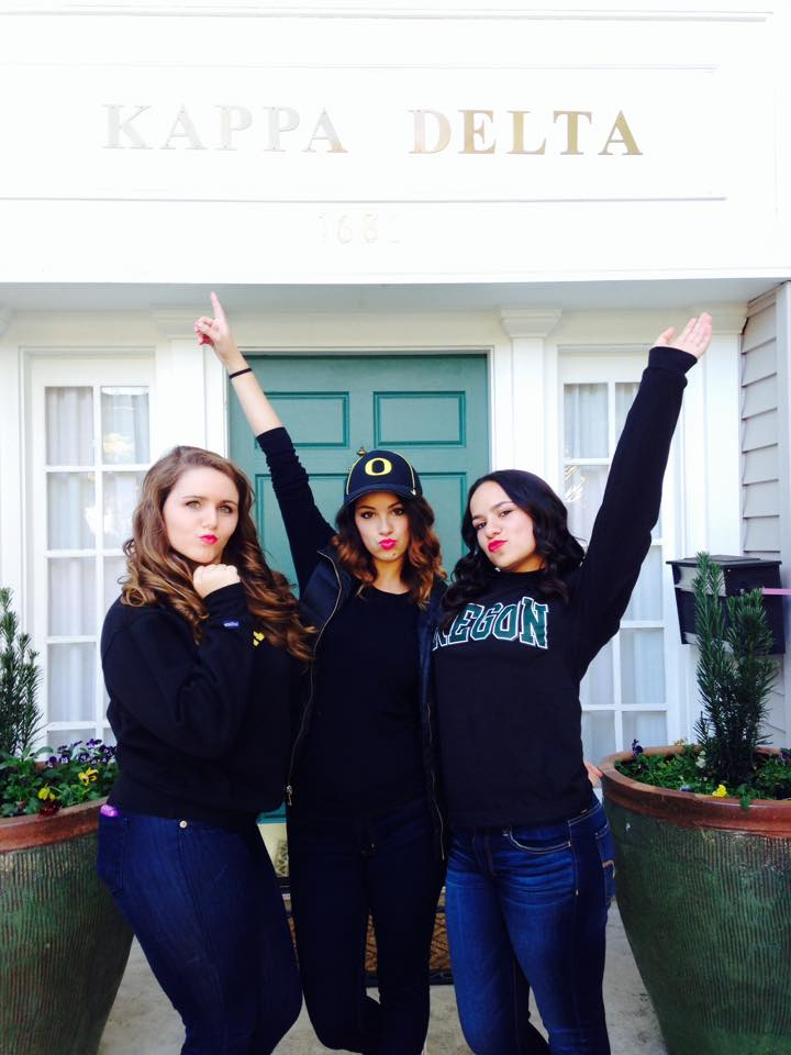 Kappa Delta Loves the Ducks!