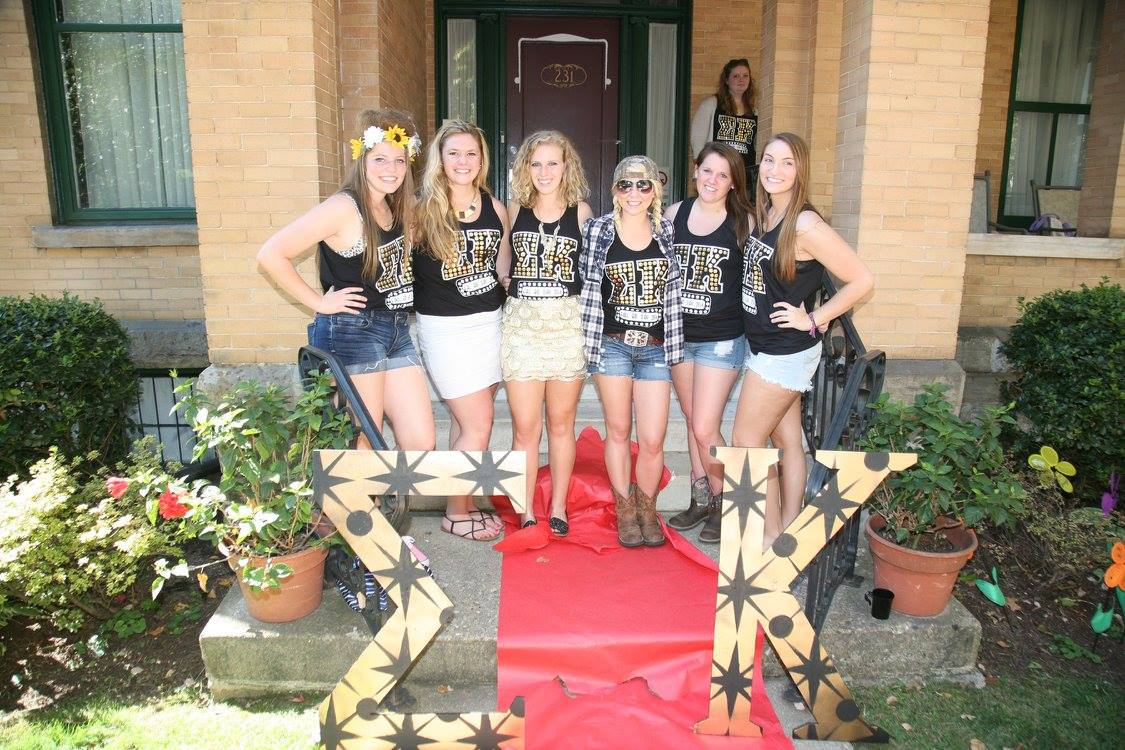 Bid Day Fall 2014