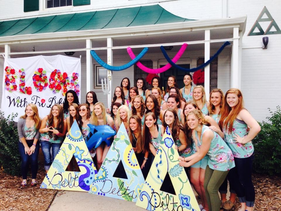 Theta Eta Bid Day Fall 2014