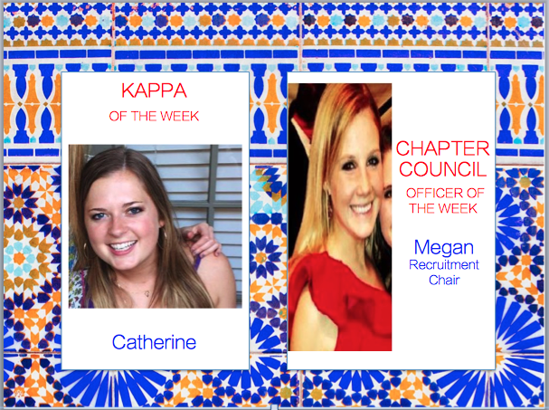 Kappas of the Week 2015