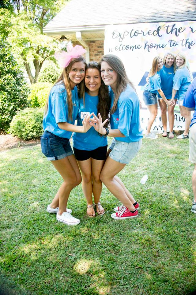 ZTA Bid Day 2015 Adventure Awaits