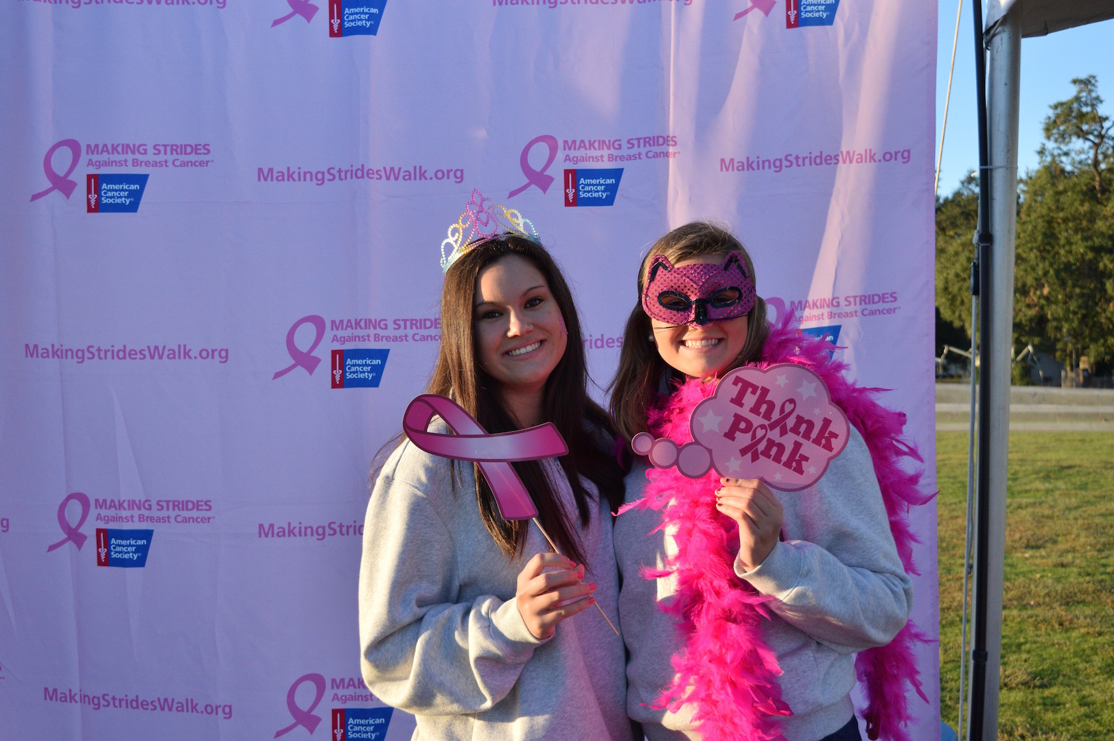 Making Strides Against Breast Cancer Walk 2016