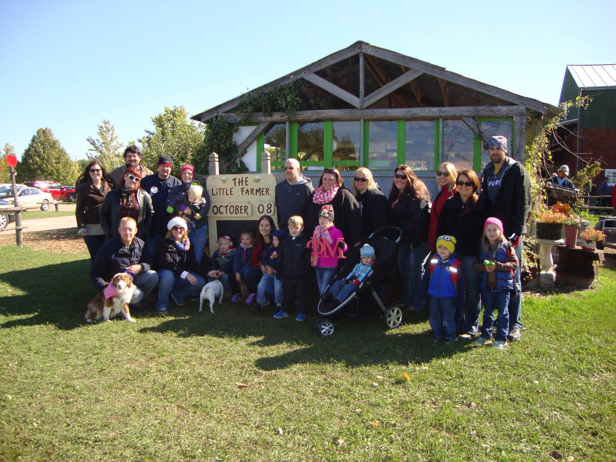 Little Farmer Orchard Outing 10/08/16