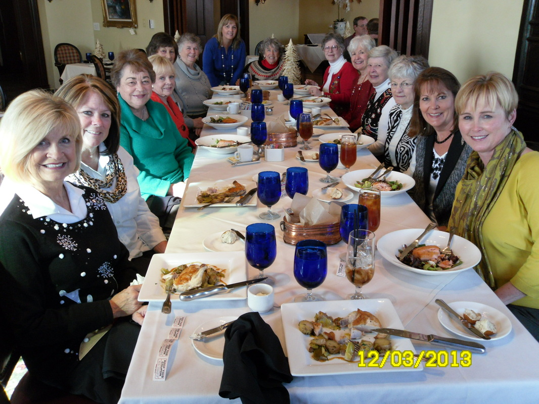 December 2013, Holiday Lunch