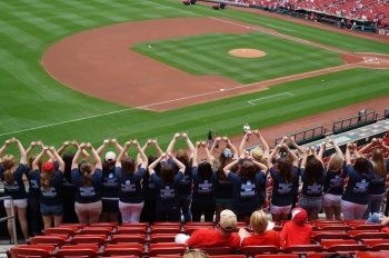 Sisterhood: Cardinals Game Spring 2014