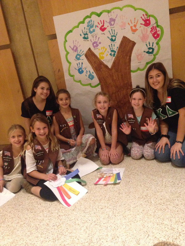Build Me Up (Girl Scout Event)
