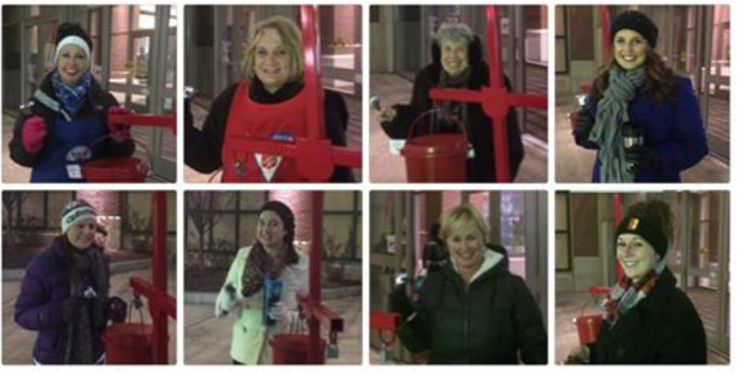 Ringing Bells for the Salvation Army