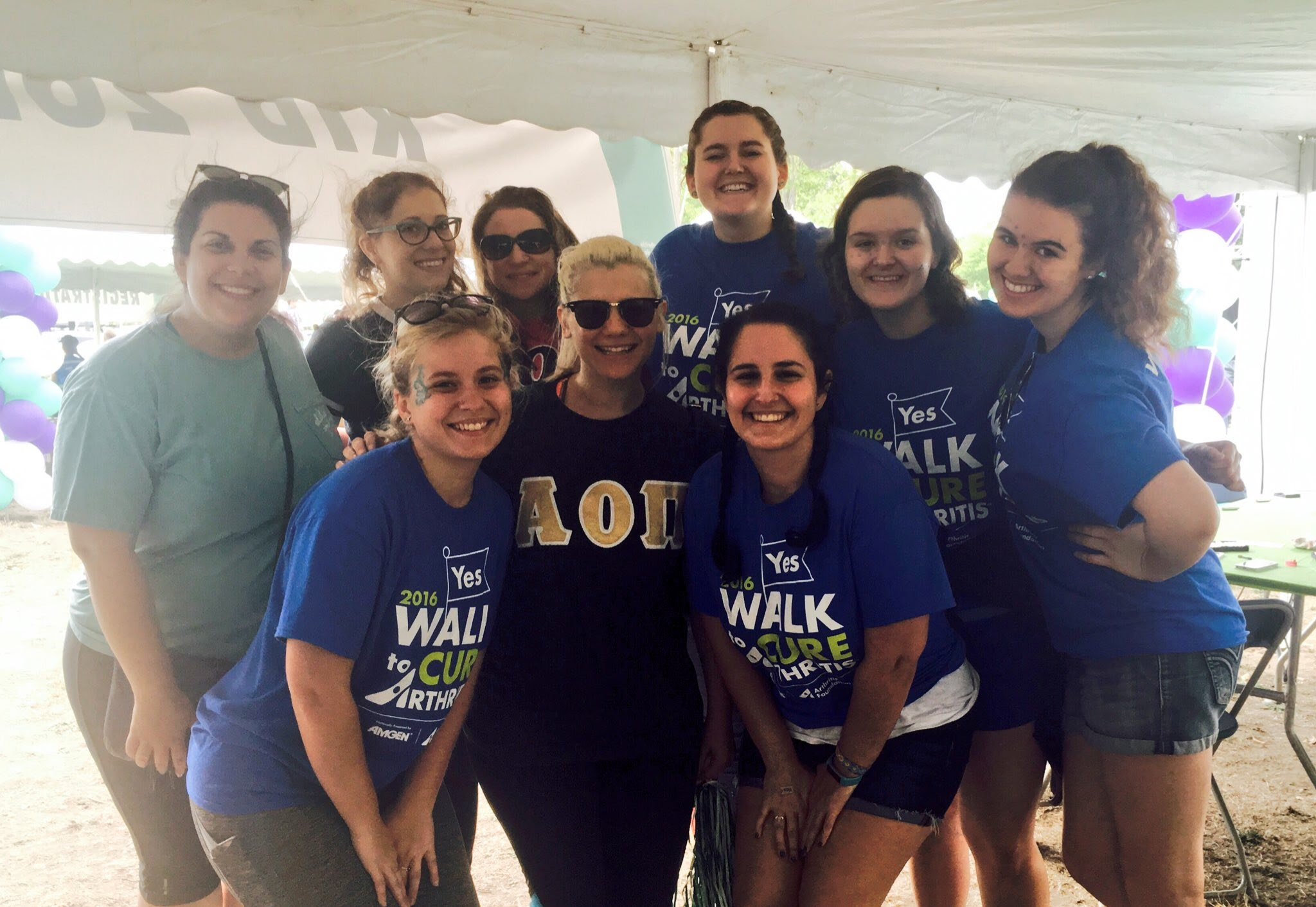Walk to Cure Arthritis, Fall 2016