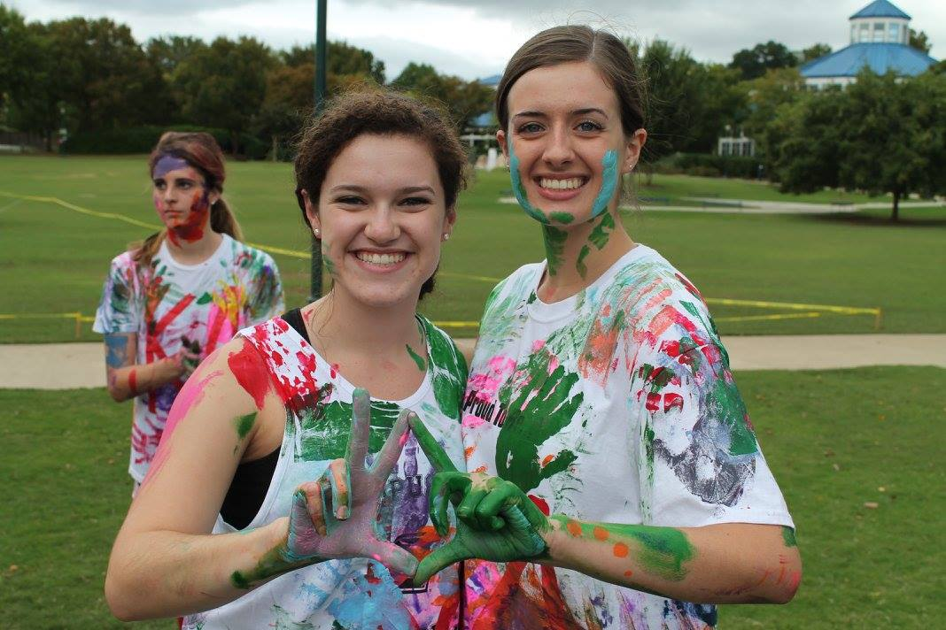 Sisterhood Event (Paint a Sister Who...) 2015