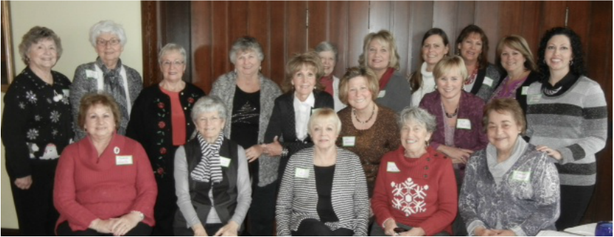 December 2014 - Holiday Lunch at Webster House