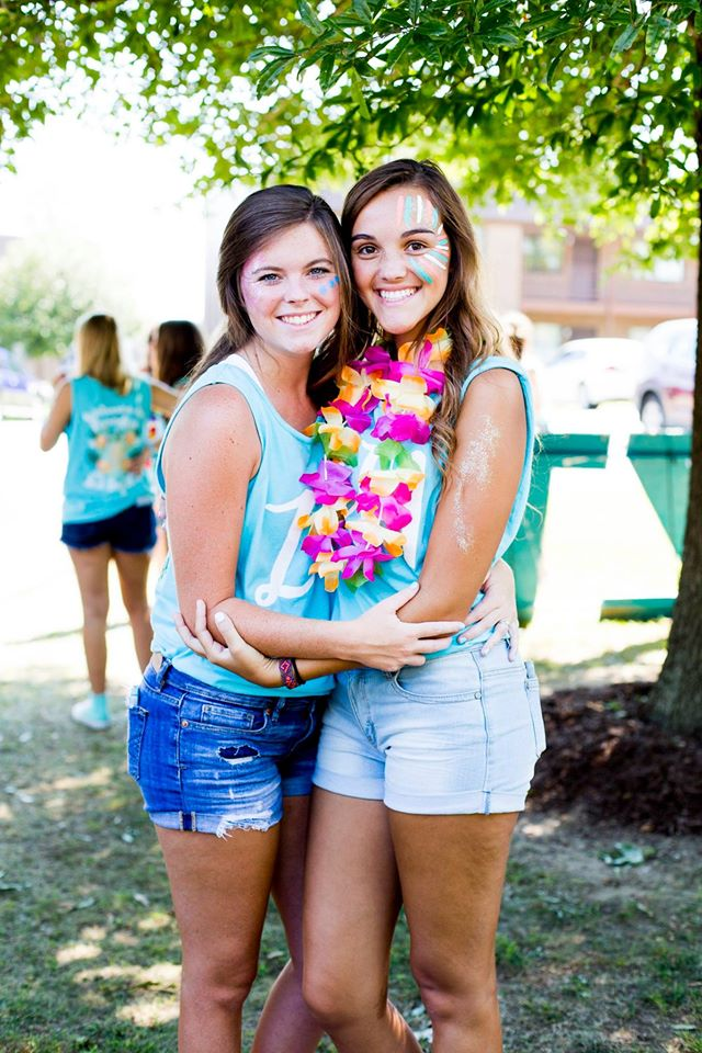 ZTA Bid Day 2016 Welcome to Paradise