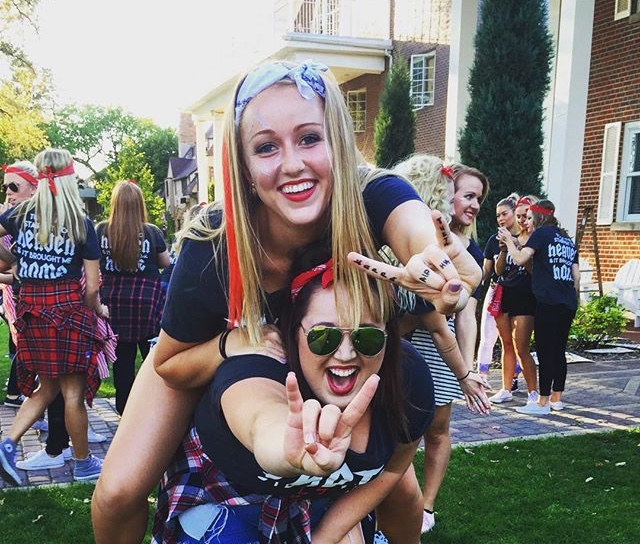 Bid Day 2015 ~Rock and Roll ~