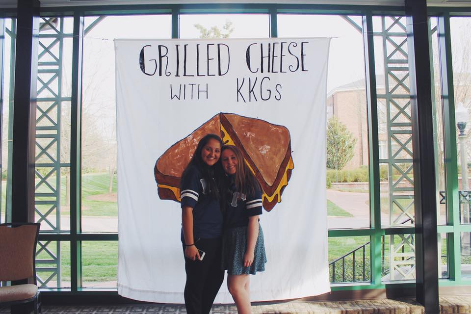 Grilled Cheese with KKGs Spring 2017