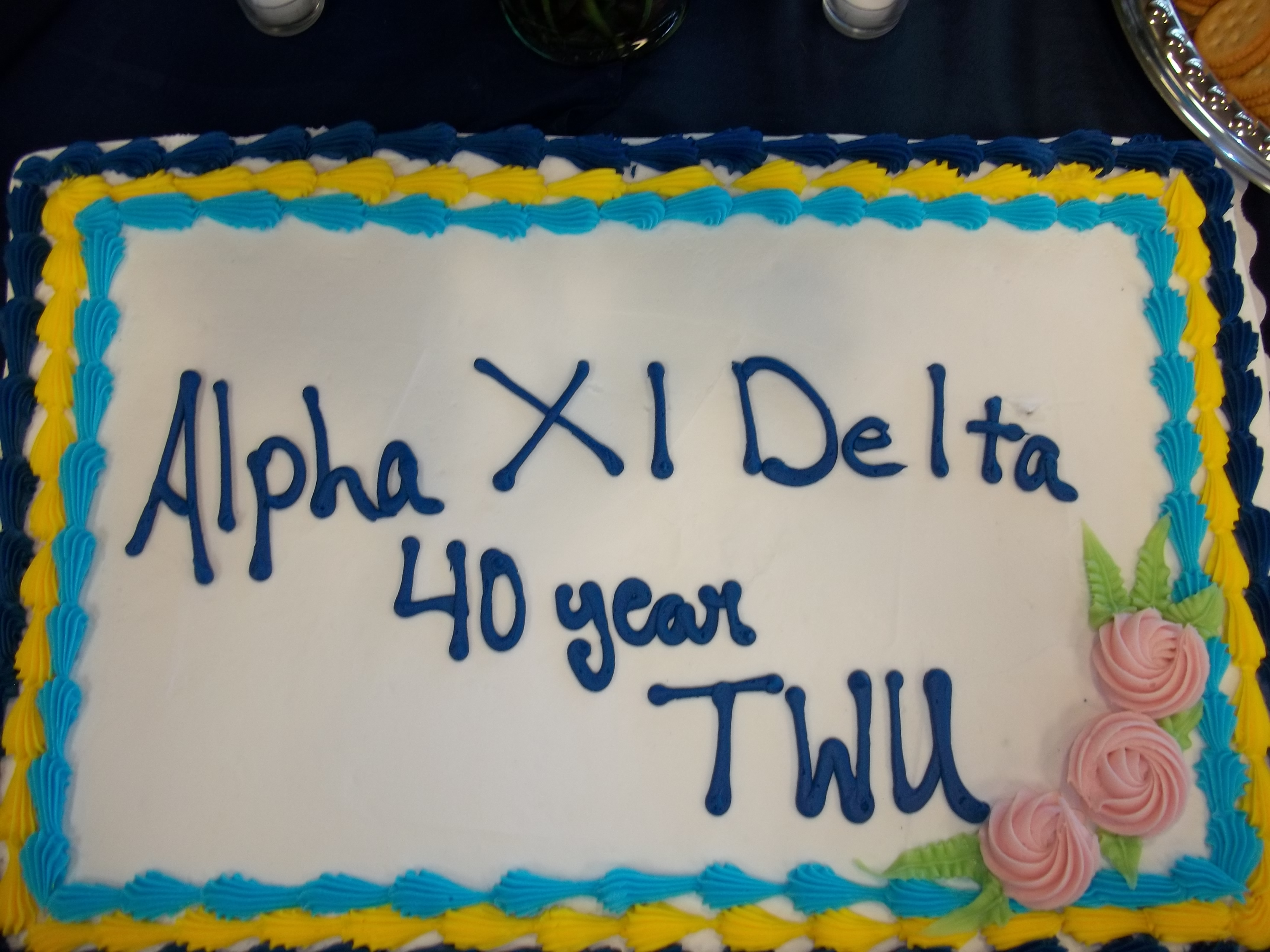 Zeta Lambda's 40th Anniversary Celebration
