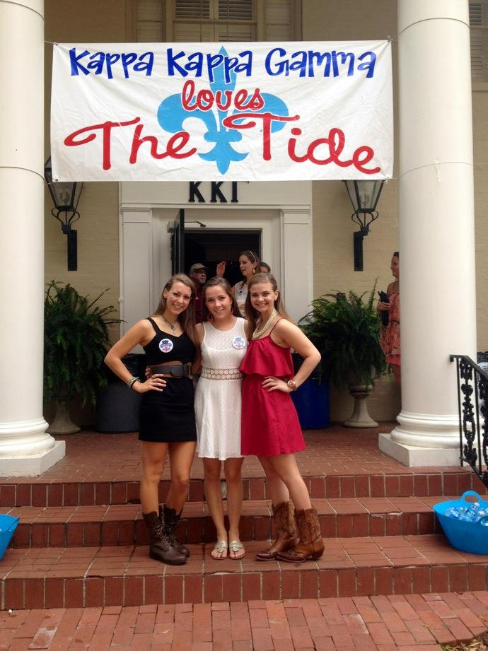Kappa Loves the Tide!