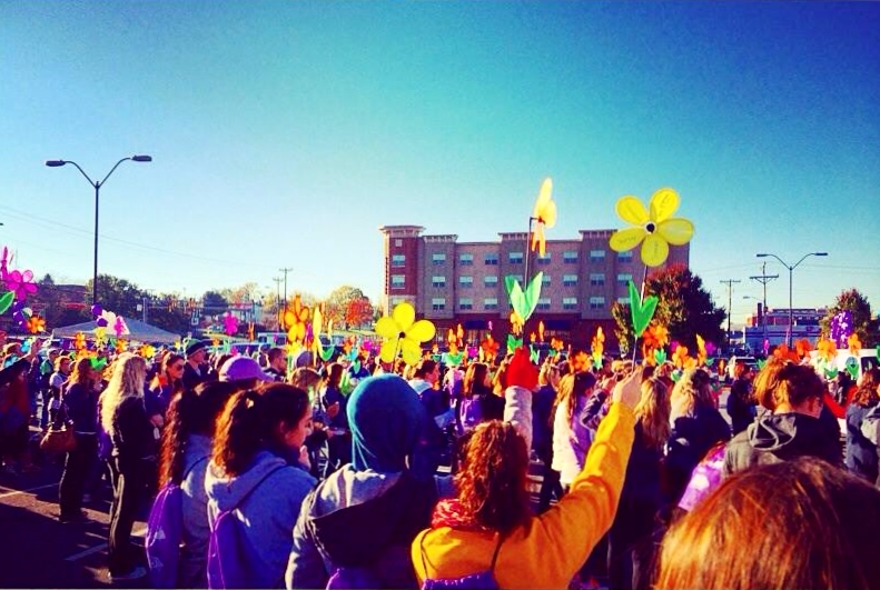Walk to End Alzheimers Fall 2015