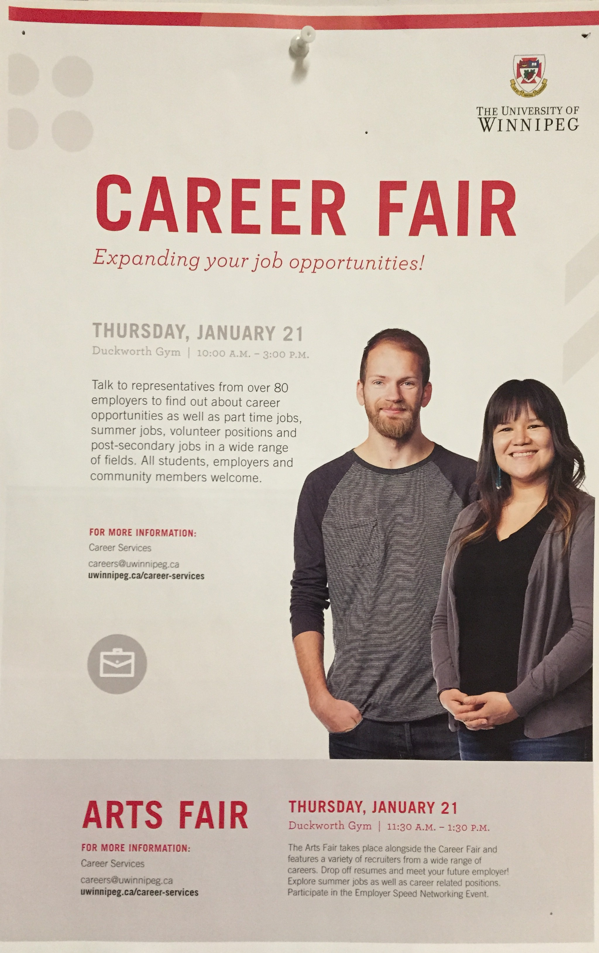 Career Fair January 21, 2016