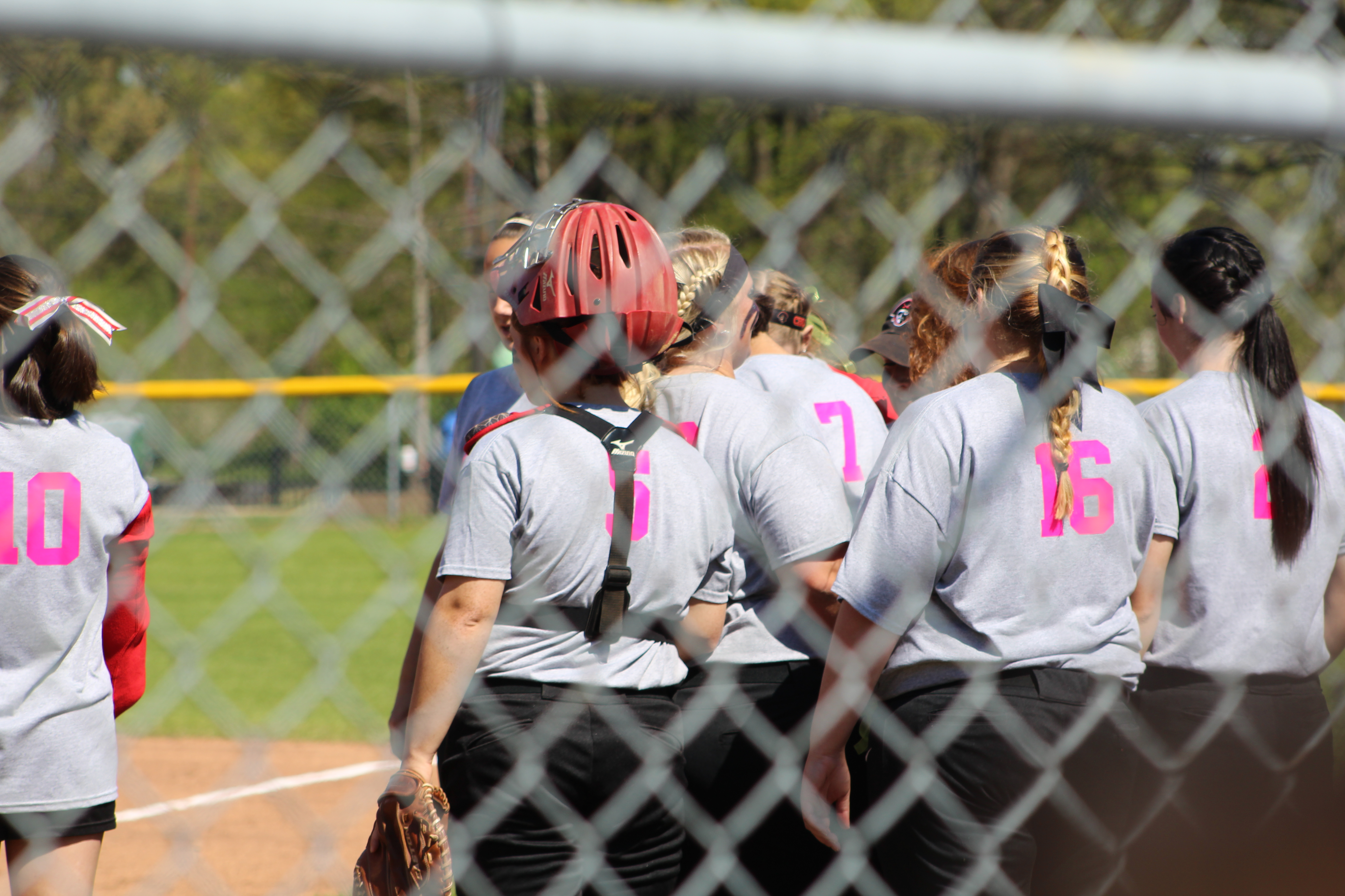 Pink Out Softball Game 2017