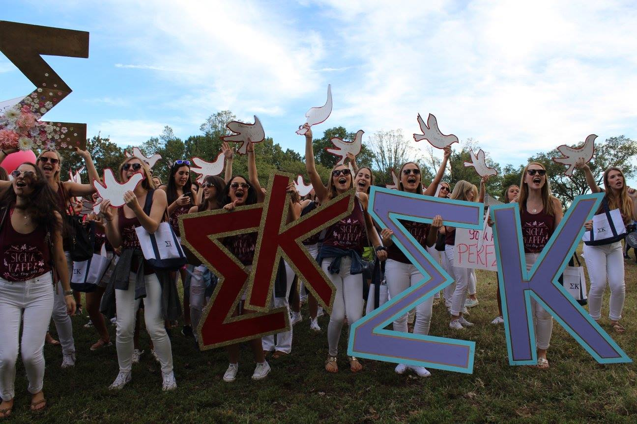 Welcome Home! Bid Day 2015