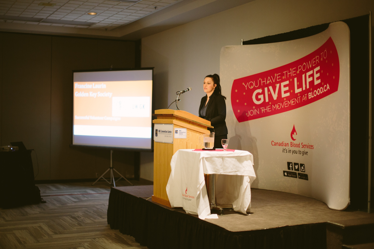 Canadian Blood Services Appreciation Breakfast March 2017