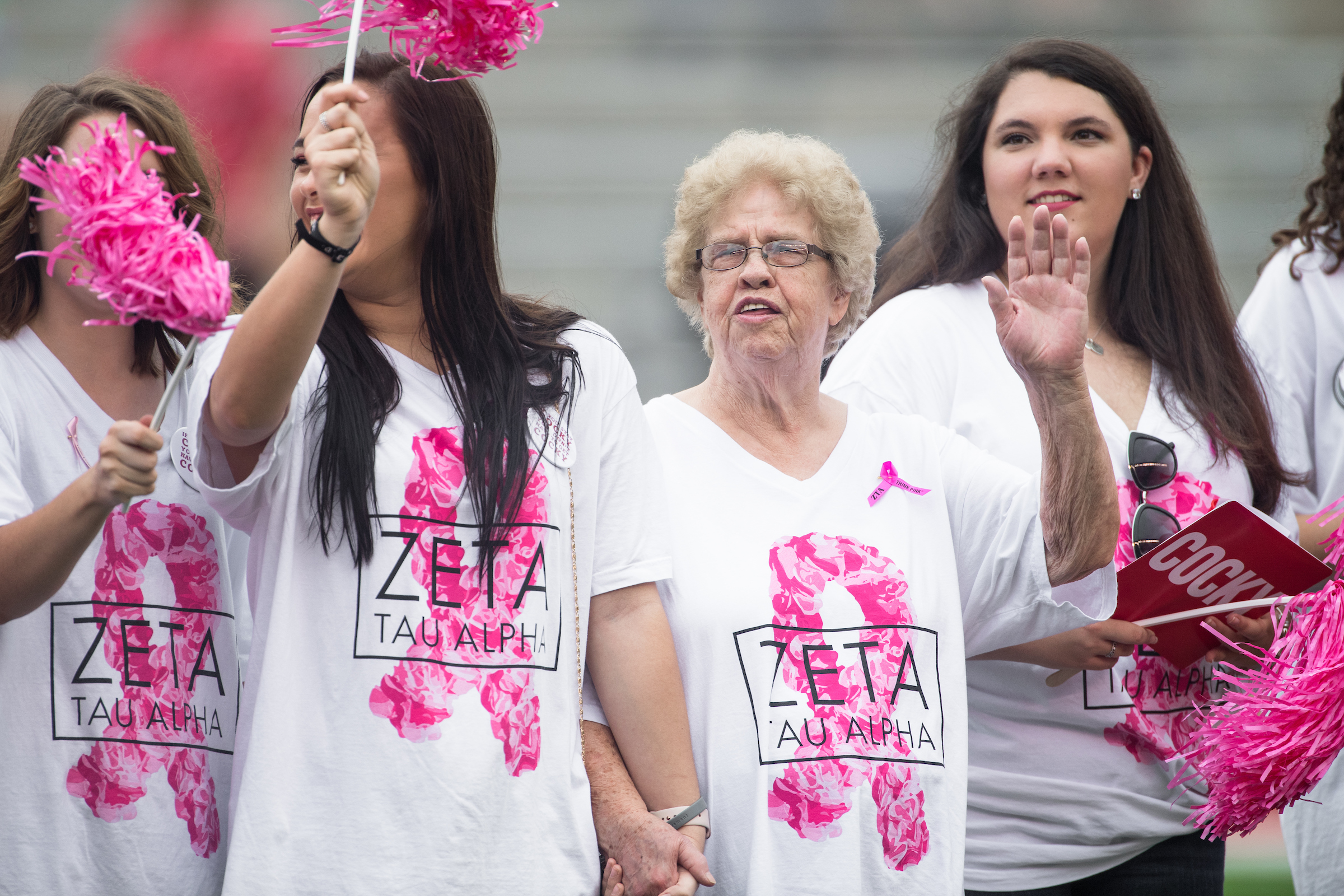 Think Pink Football Game 2017