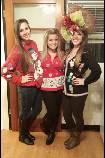 Sisterhood Christmas Party Fall 2013