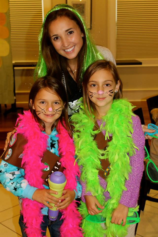 International Girl's Day/Girl Scout Events