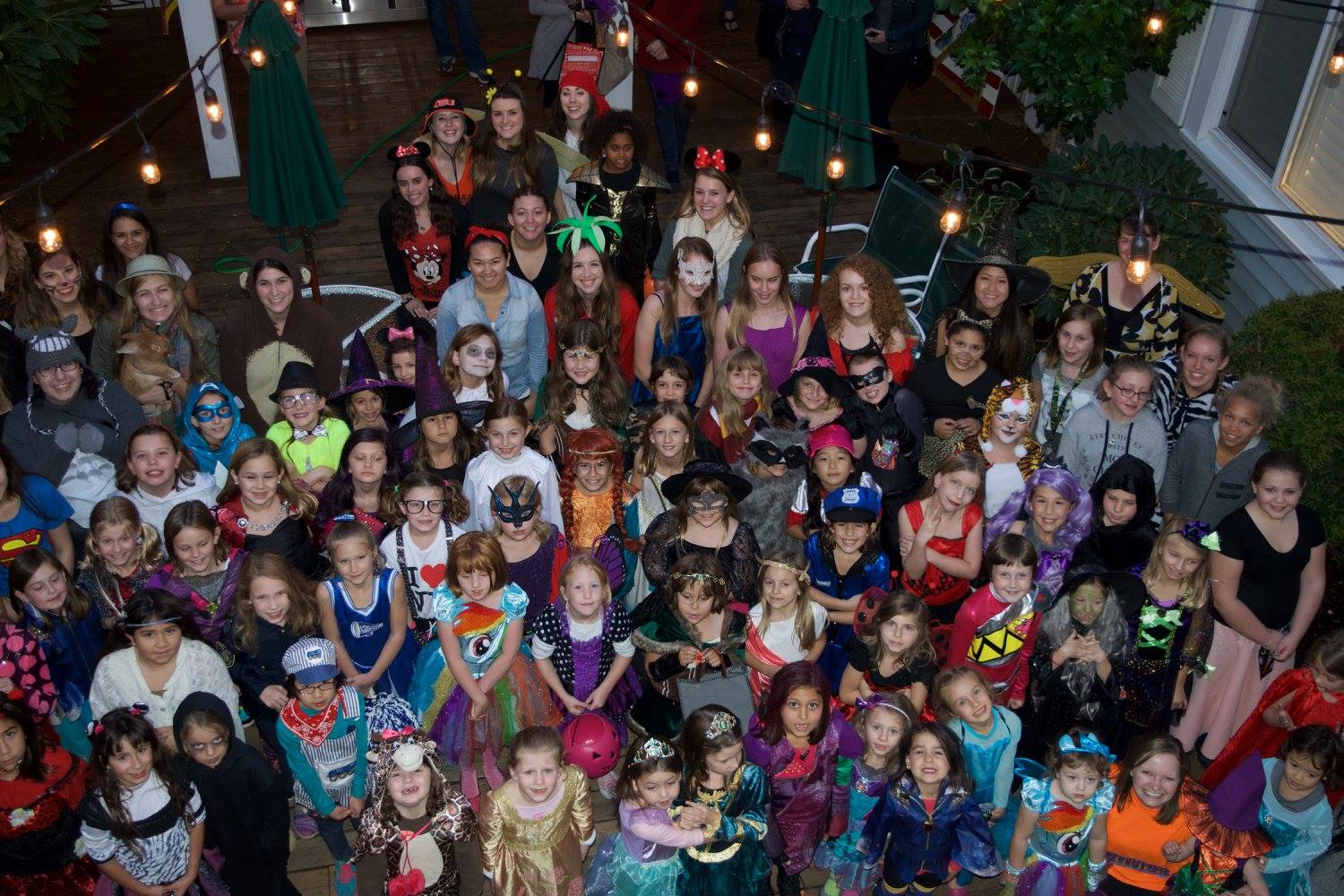 Halloween with the Girl Scouts 2016